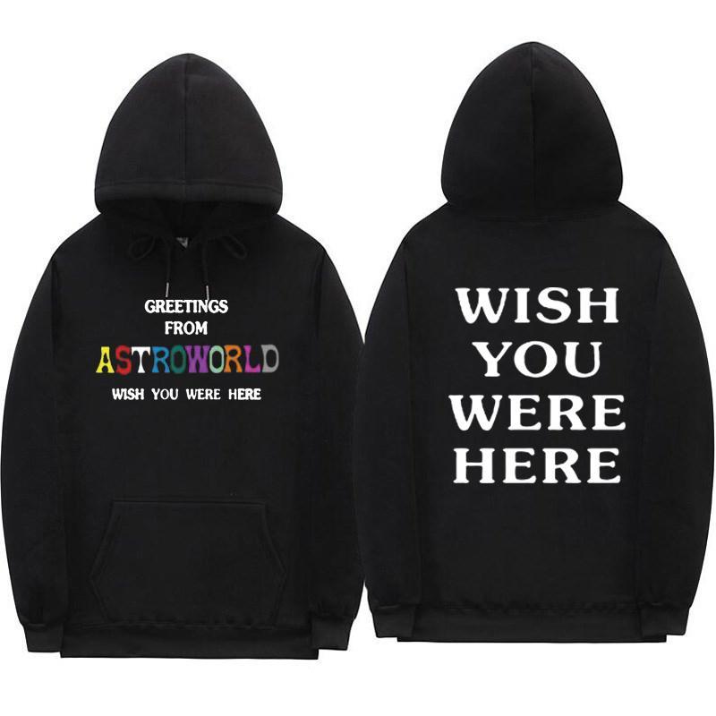 Deseamos Sudaderas Con Te Saludos De Aquí Compre Capucha Astroworld wBqITR