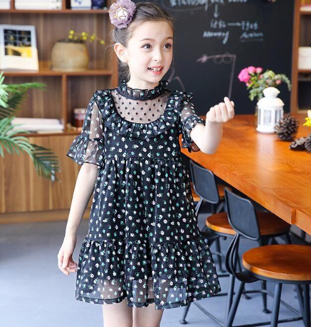 Großhandel 2018 Neues Design Kleid Kinder Kleid Kinder Mädchen ...