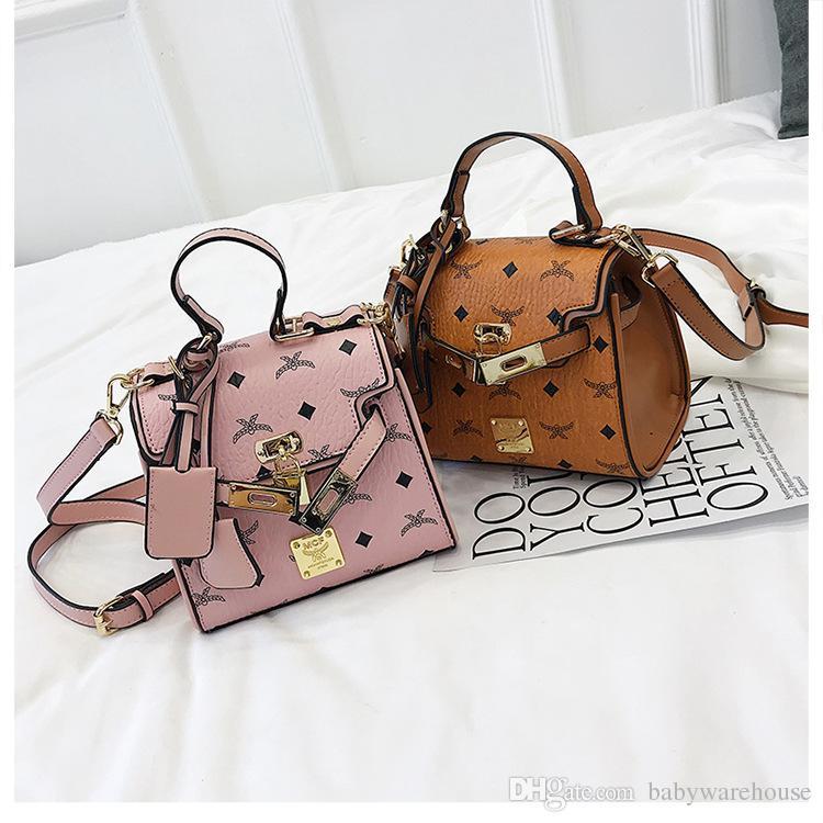 Children Handbag Girls Purse Lovely Designer Shoulder Bags New ... bbcbffb121722
