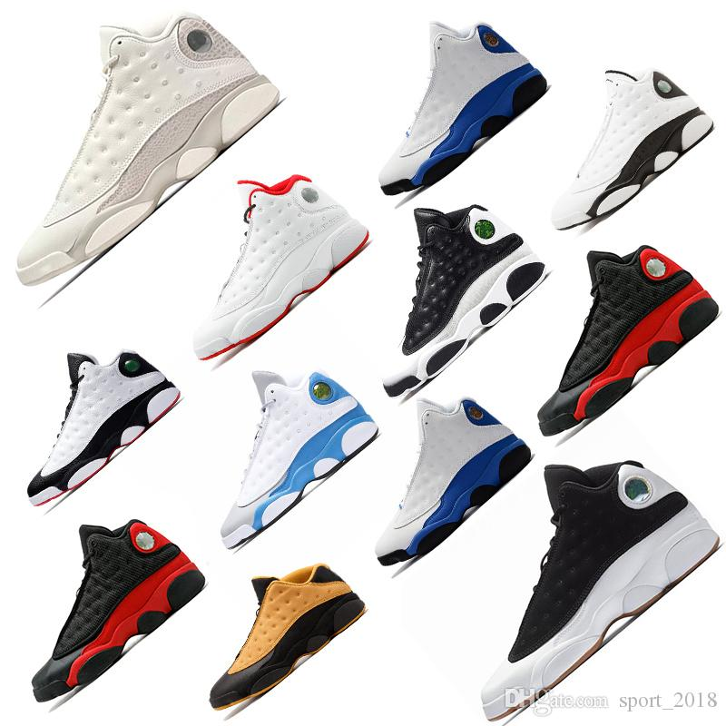 5bb1240a725d New Basketball Shoes 13 Bred Black Cat True Red Moon Particle ...