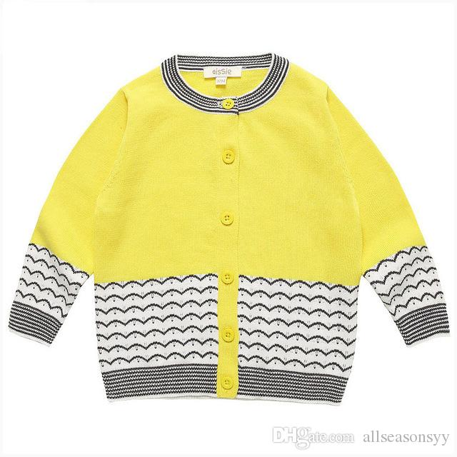 Baby Sweater Knitted Cardigan For Boys Cotton Coat Spring Autumn