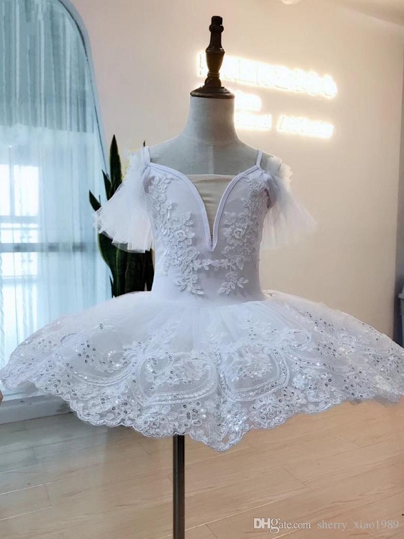 af306b4f64e7 White Swan Professional Tutu Child Kids Girls Ballerina Costume ...