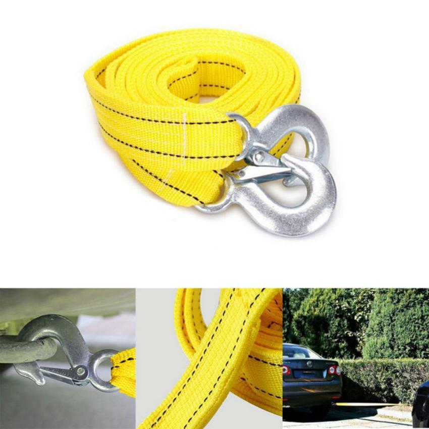 4 M Araba Halat Çekme Kablosu Ağır Çekme Çekme Halatı Askı Kanca Van Yol Kurtarma araba Ağır Araba için Acil GGA198