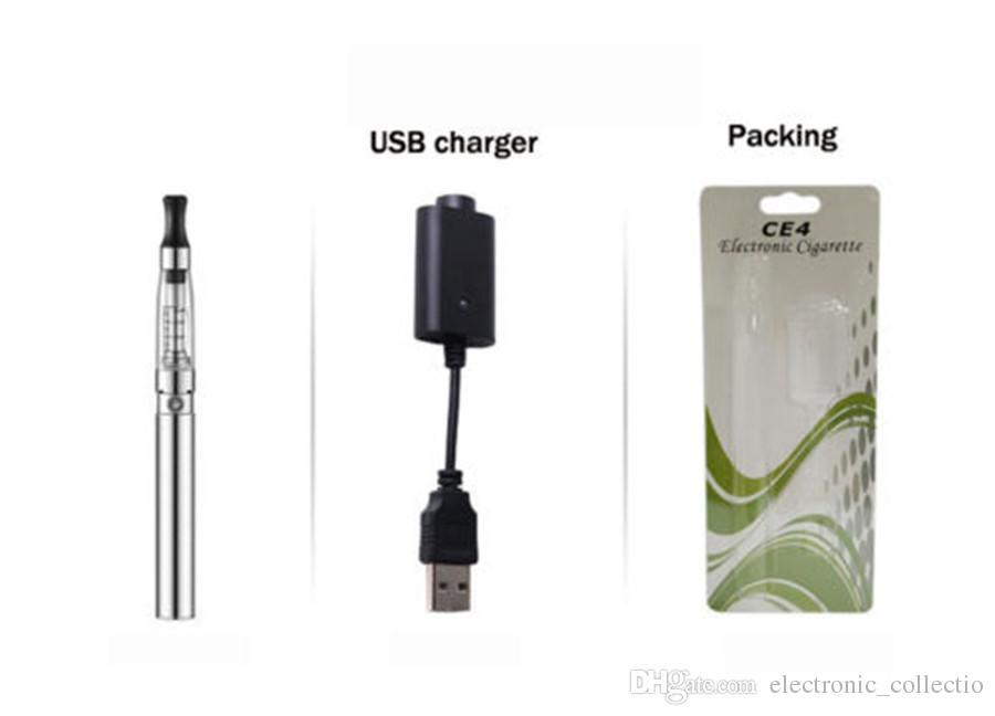 e cig ego CE4 starter kit single CE4 Blister Kits 659mah 900mah 1100mah EGO-T Battery Clearomizer Atomizer Vaporizer vape pen DHL
