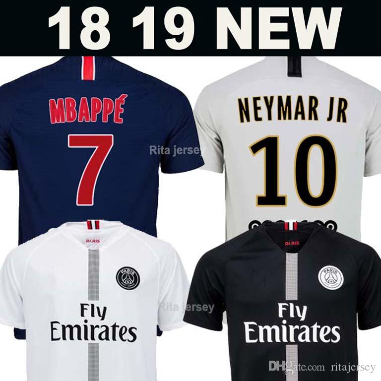 Camiseta De Fútbol PSG 2018 2019 PARIS SAINT GERMAIN NEYMAR JR BUCKET 18 19  Soccer Jerseys CAVANI DI MARIA T SILVA PASTORE CELSO Football Shirt DRAXLER  ... 7e175f0ed9e7b