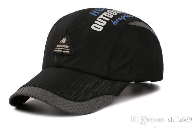 9dfebdbd1387d new style Korean hat men   s outdoor quick - drying baseball cap summer  breathable duck - cap sun - sun hat