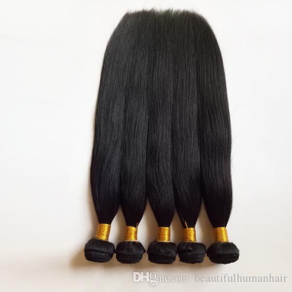 البرازيلي الأوروبي حريري مستقيم عذراء الشعر 3 4 5 حزم غير المجهزة الإنسان نسج الشعر الهندي المنغولية ريمي الشعر ملحقات لحمة مزدوجة