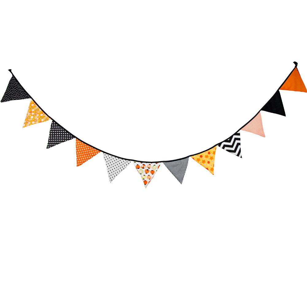 3.2M Halloween Decoration pennant bunting Party Decoration Photo Prop banner flag halloween garland