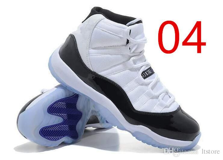 classic fit a762a ab8c1 (With Box) 2018 NEW High quality 11 Emerald black white men basketball  shoes Easter 11s XI sports sneakers Size EUR36-EUR47 Sale
