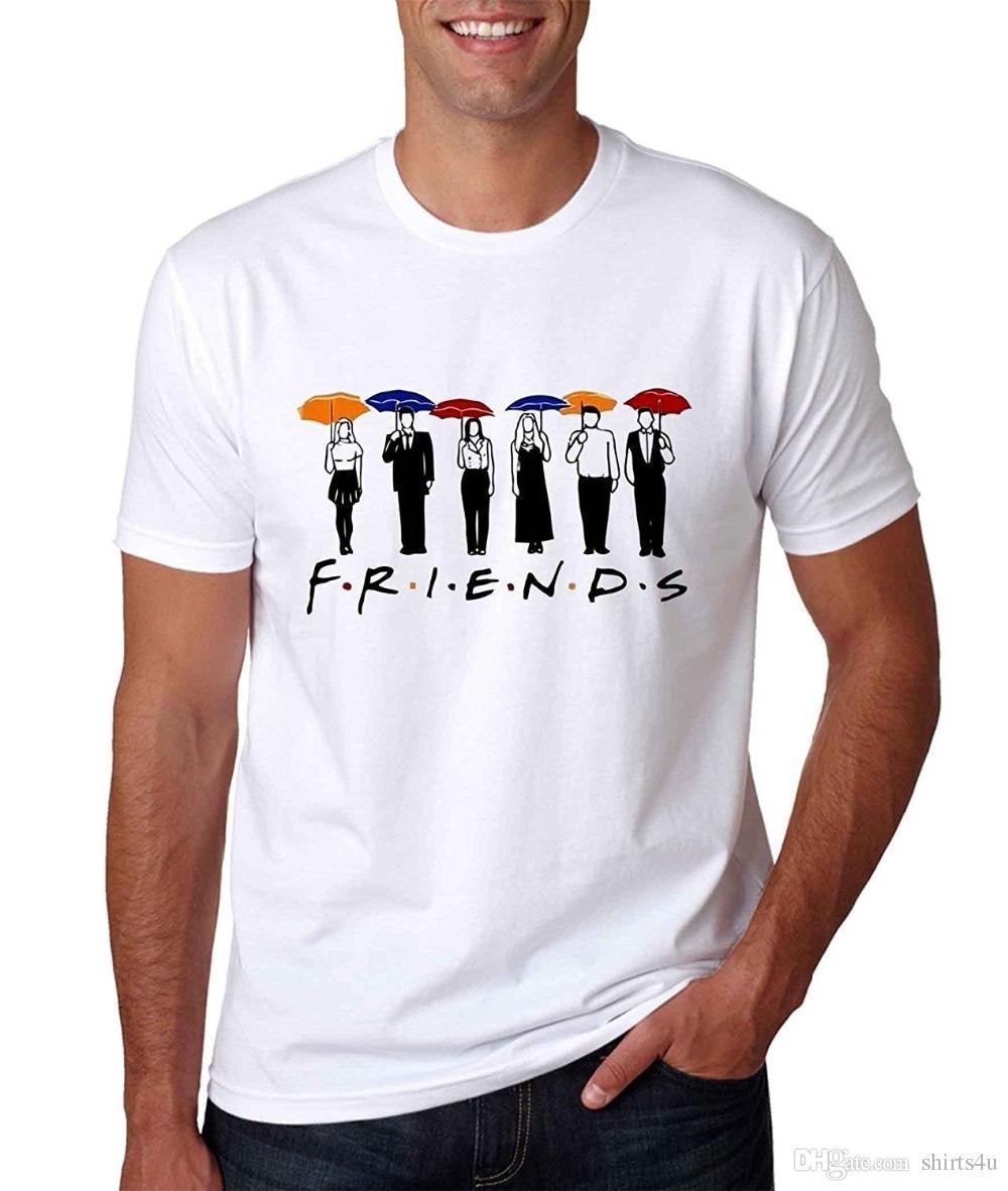 T Shirt Sale Design Men Crew Neck Friends Tv Show Fashion Loose