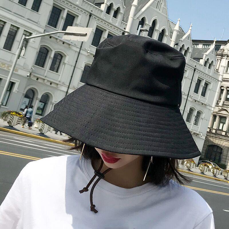 SUOGRY Wide Brim Waterproof Men Women Panama Bucket Hat Casual Quick Drying Summer  Sun Cap Hat Solid Plain Fishing Fisherman Men Hats Baby Sun Hat From ... 3e36f5decfd3