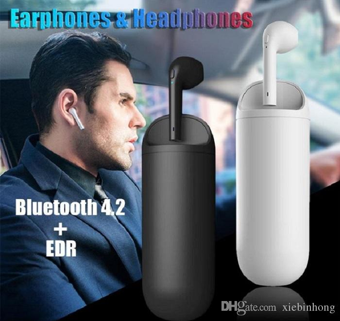 Single-piece HBQ-i9 Wireless Bluetooth Headphone Earphone 2 in 1 Calling Headset Power Bank Earbuds for iphone Samsung Huawei Xiaomi