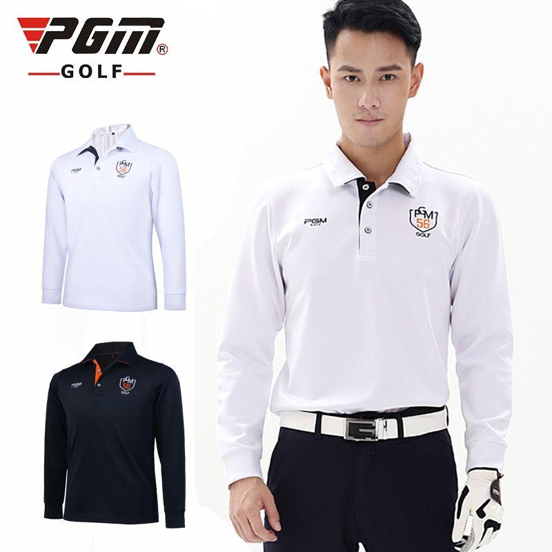 35ad43e2 2019 PGM Brand 2018 Fit Polomens Men Top Polo Shirts Quick Dry Spring Long  Sleeve Tshirt Ropa De Golf Clothes Men Table Tennis Shirt From Yangmeijune,  ...