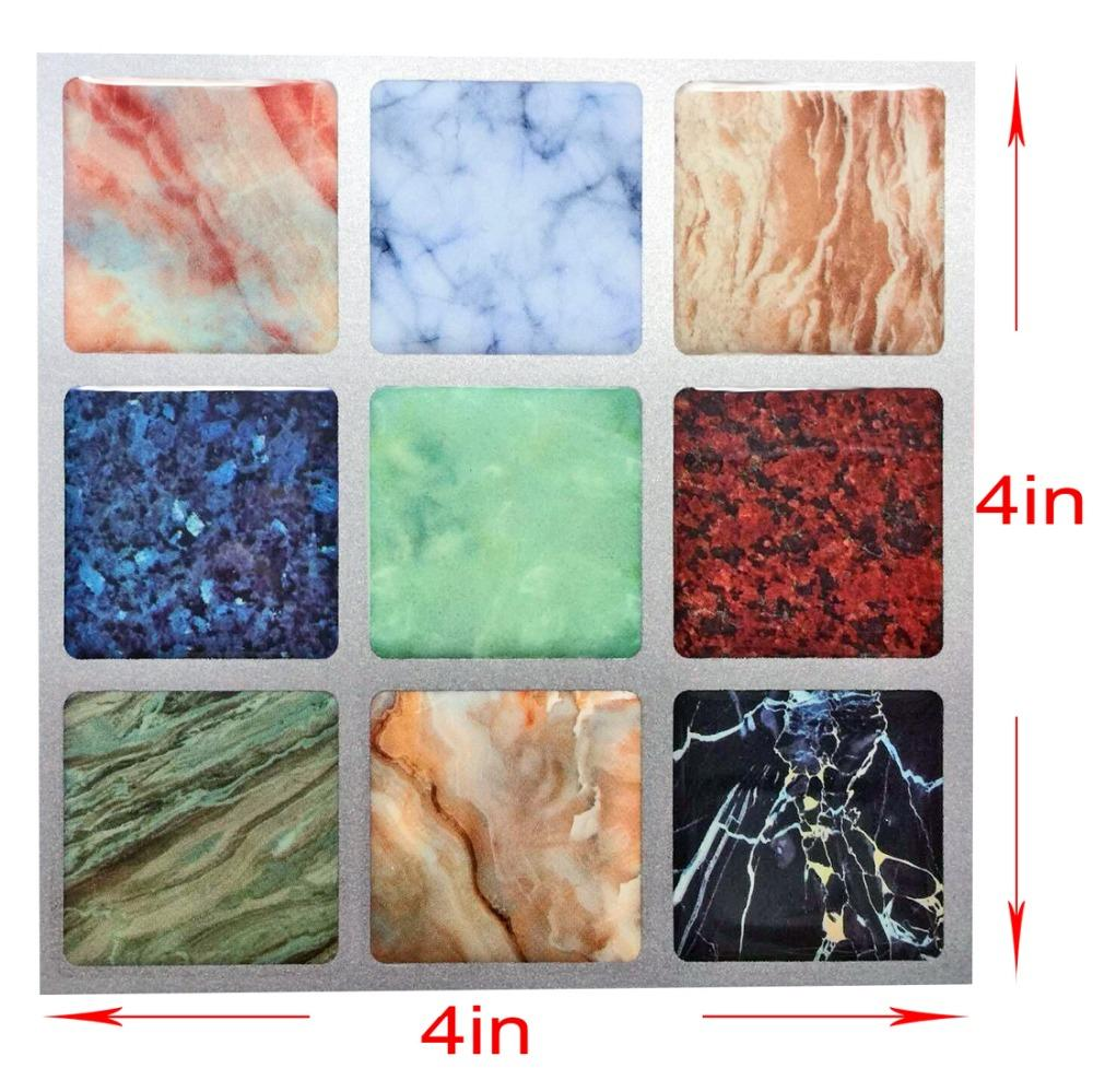 GroBartig Wholesale 3d Art Mosaic Wall Tile Self Adhesive Removable Wallpaper Vinyl  Floor Tile Backsplash For Kitchen Bathroom Stair Decoration Image Wallpaper  Photos ...