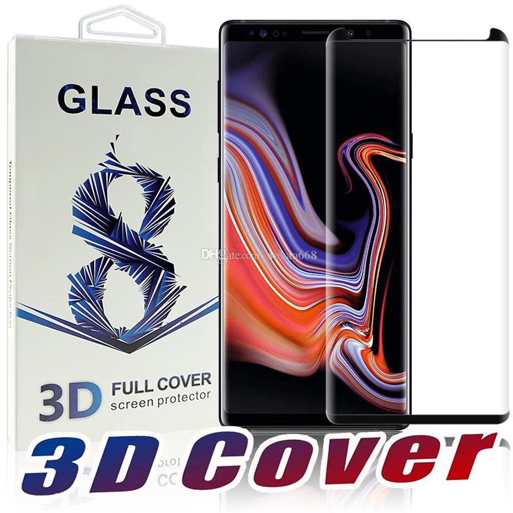 For Samsung Galaxy Note 9 8 S9 S8 S7 Plus Case Friendly 3d Curve