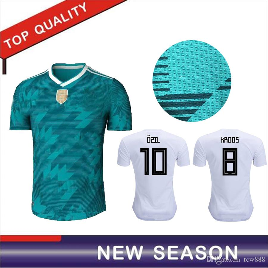 28d45ef80 2019 2018 Germany Player Version Kroos 2018 World Cup Germany Soccer  Jerseys DRAXLER OZIL REUS GOTZE WERNER Football Shirts From Tcw888
