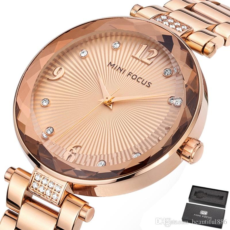 e88877b36b2 Luxury Women Watch Famous Brands Gold Fashion Design Bracelet Watches  Ladies Women Stainless Steel Band Wrist Watches Relogio Femininos Women s  Bracelet ...