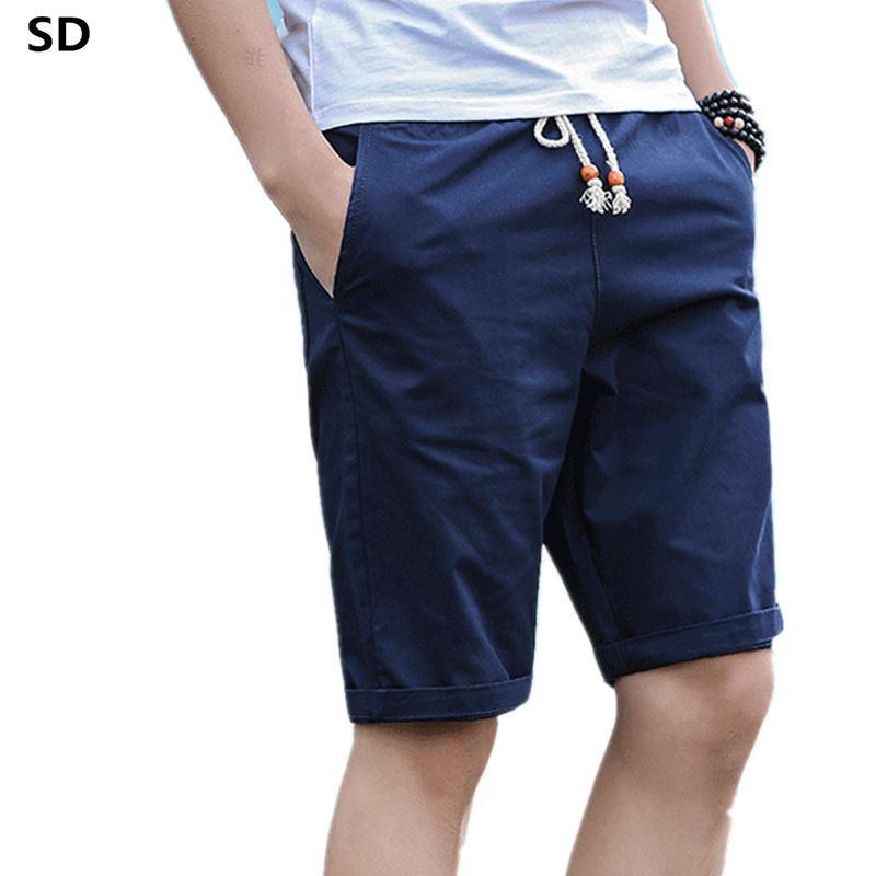 49dfe80314 Slim Fit Casual Shorts Mens Fashion Brand Boardshorts Men Shorts Quick Dry  Bermuda Casual Jogger Plus Size M-5XL Dropshipping 09