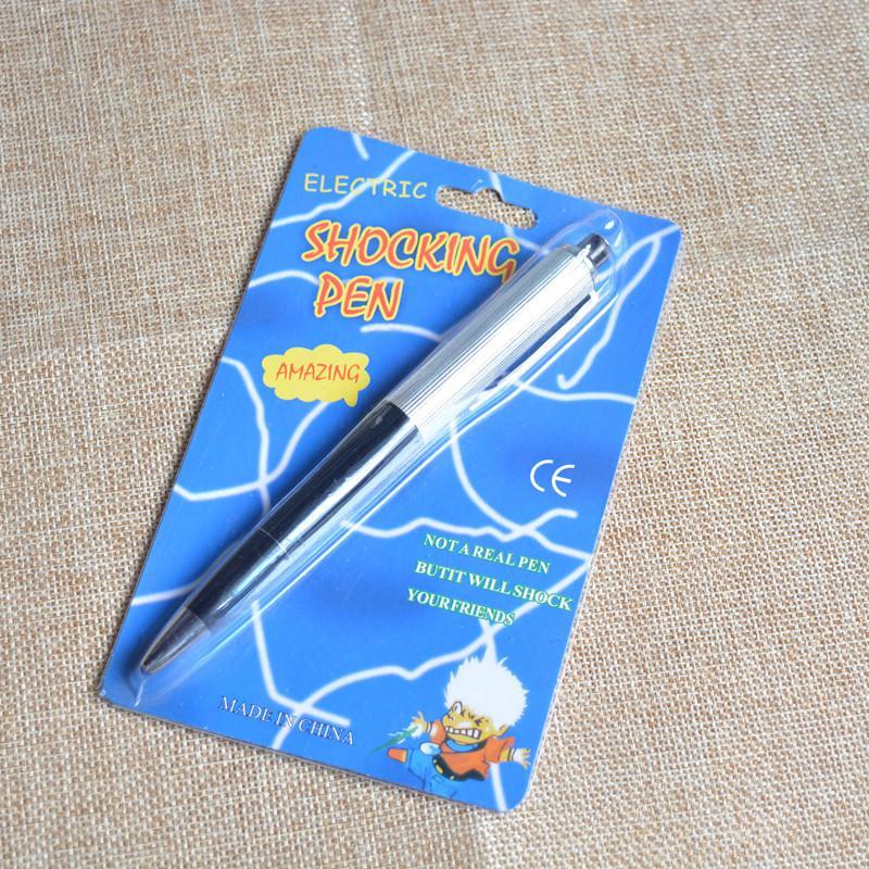 High QUality Electric Shock Pen Toy Utility Gadget Gag Joke Funny Prank Trick Novelty Friend's Best Gift
