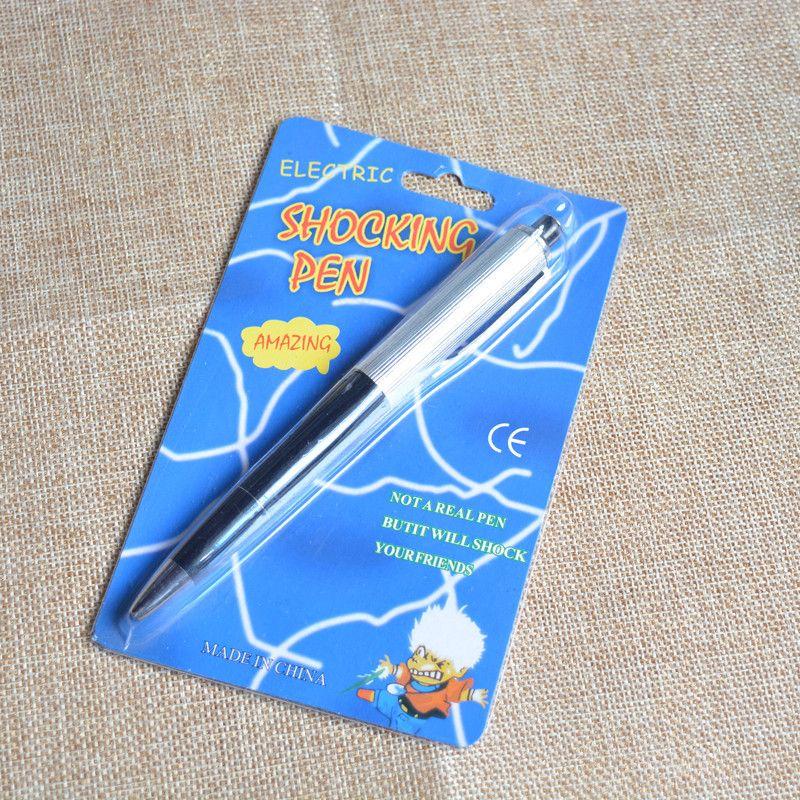 New Arrival Electric Shock Pen Toy Utility Gadget Gag Joke Funny Prank Trick Novelty Friend's Best Gift