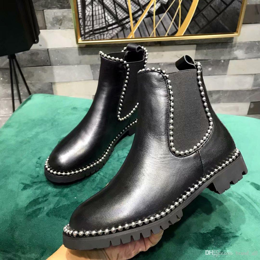 a1bd23b5037 Women Fashion Punk Style Martin Boots Shoes 2018 Ladies Dress Knight Boots  Shoes 2018 Autumn Female Motorcycle Boots Zapatos Mujers