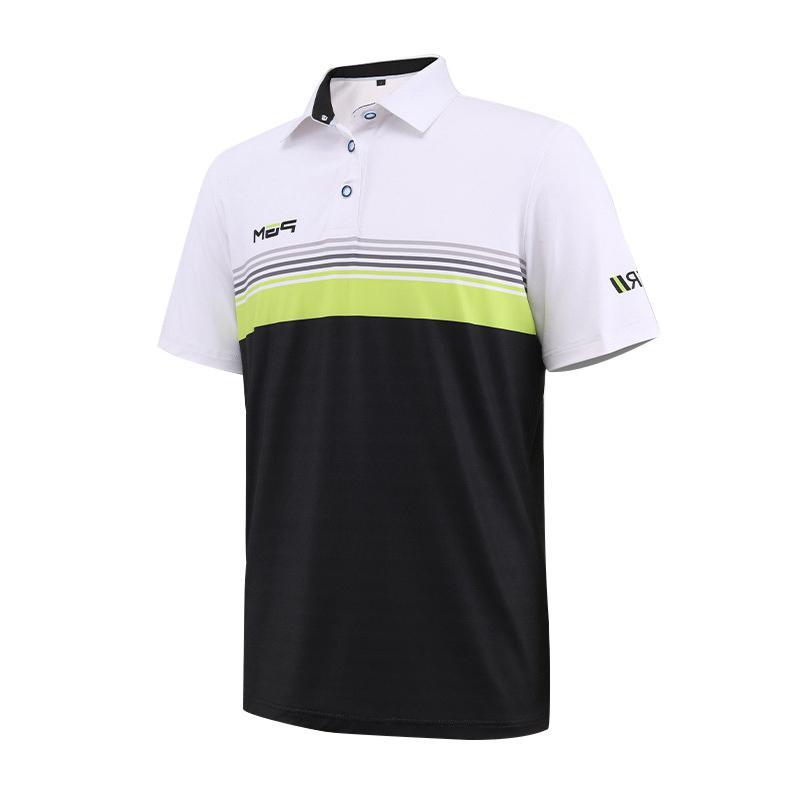 5f512c0f Men Golf Shirt Golf Men's Clothing POLO Shirts Quick Drying Polyester  Summer Apparel T Shirt