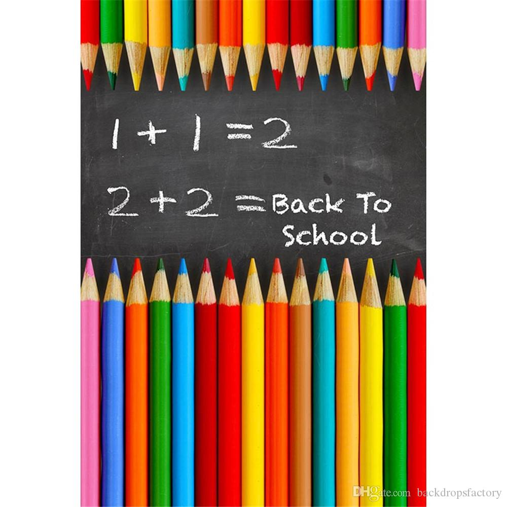 2018 back to school theme backdrop for photography printed