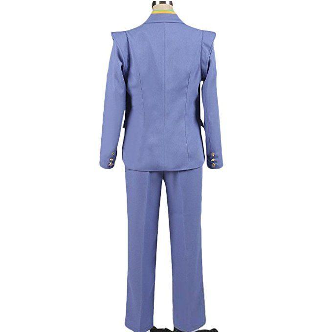 JoJos Bizarre Adventure Cosplay Costume Yoshikage Kira Halloween Uniform