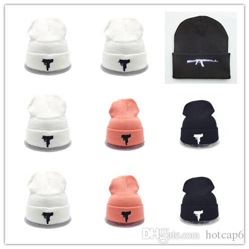 de0fd56d Good Sale Designer UZI Beane Skullies Slouchy Beanies Unisex Knitted Hat  Mens And Womens Skull Hip Hop Cap Hair Bonnets Beanies Fedora Hat From  Hotcap6, ...