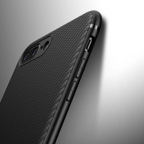 separation shoes 0c5ec d4432 Carbon Fiber Case for iphone X iphone 7 8 plus thin Slim Back Luxury Case  for iphone 6S 6 plus 8 Silicon Soft Black Cover