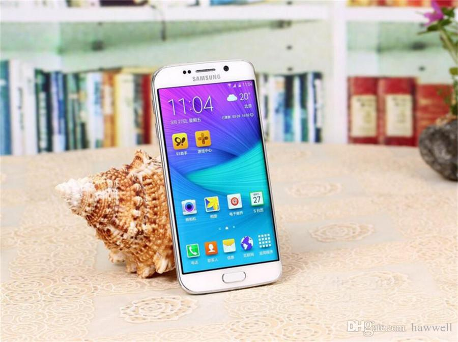 Original Refurbished Samsung Galaxy S6 Edge G925F G925A G925V G925T G925P 5.1 inch Octa Core 3GB RAM 32GB ROM 16.0MP LTE 4G Phone DHL