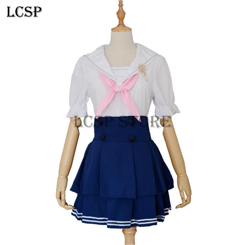 LCSP LoveLive! Kousaka Honoka Cosplay Costume giapponese Anime love live Unawakened Navy Sailor Uniform Suit Suit Suit