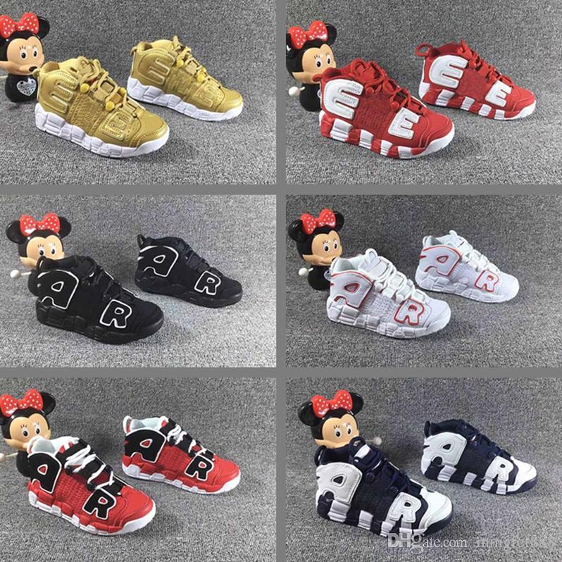... Olympic Bulls UNC Gym Red Boy Girl Basketball Shoes 3M Scottie Pippen  Children S Shoes Sneakers Online Shaq Shoes From Mingfei888 660324f3d