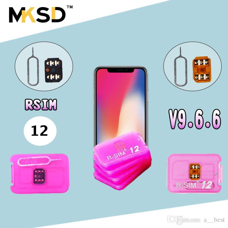 NEW VERSION R sim 12 unlock for ios11 3 rsim12 rsim sim12 ios 11 ICCID  Unlocking for iPhoneX,iphone 8,8PLUS 7,7plus 6s 6 GPLTE 4g+