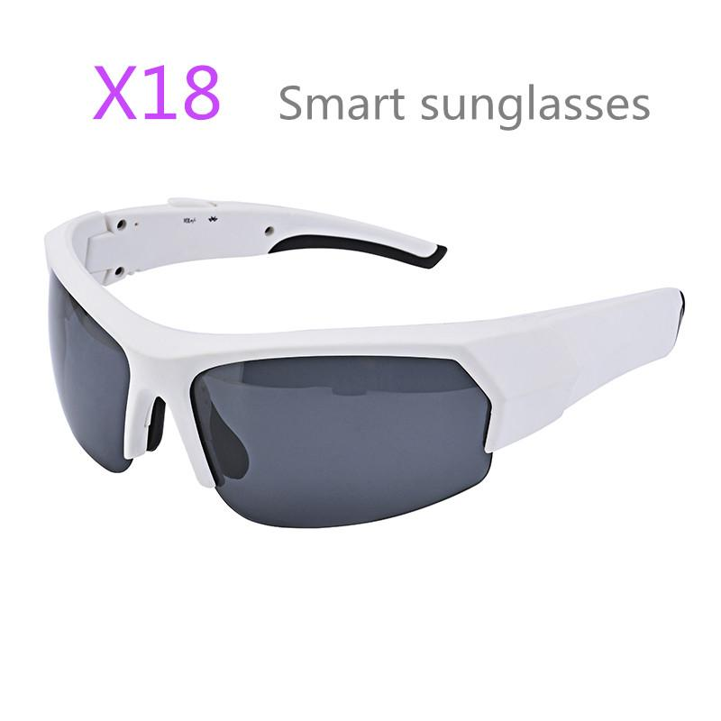 e7e10ae789 X18 Gonbes Smart Sunglasses Bluetooth Sunglasses for Men Women With Voice  Control Function Music Sport Sunglasses for IPhone Samsung Action Camera  Smart ...