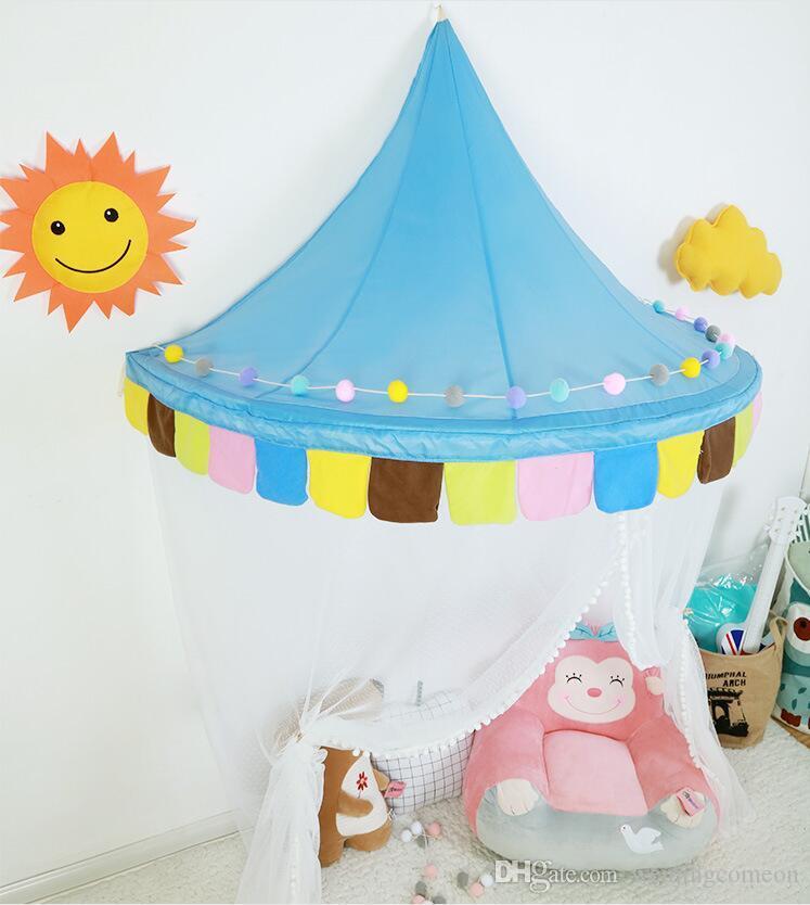 Дети Играют Дом Детские Игры Могут Двигаться Висит Стены Красочные Палатки Принцесса Новый Дизайн Девушка Подарок Детские Палатки 1,5 М