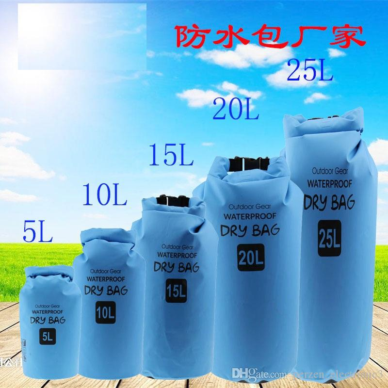 Camping Hiking PVC Waterbag Waterproof Bag Camping Dry Bags Outdoor ... 7865305ba9339