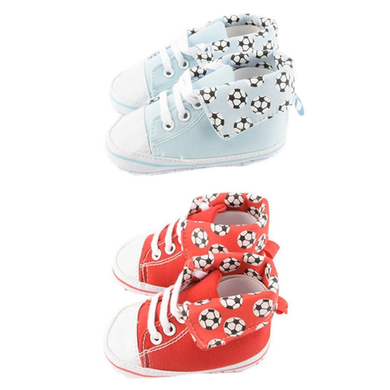 Honesty Newborn Girl Soft Sole Crib Toddler Shoes Canvas Sneaker Baby Shoes