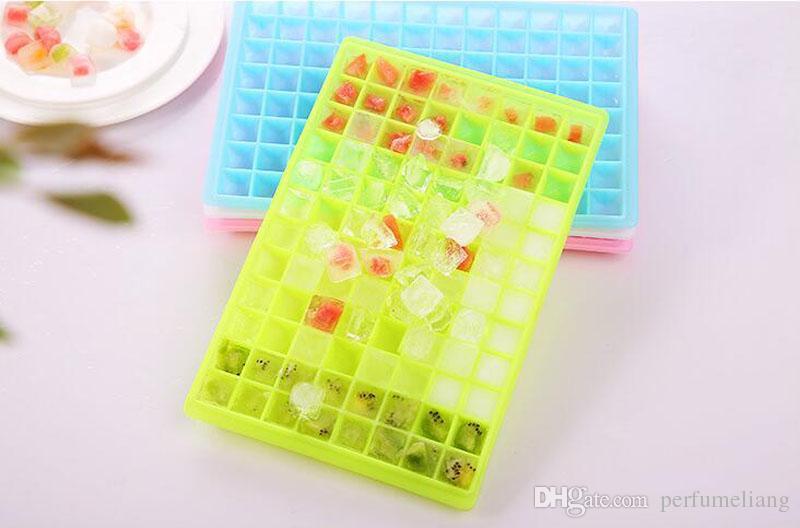 96 Große Eisform Würfel Diamant Form 3D Kunststoffe Eiswürfelform Tabletts Trinken Kalt Kühler Eisform ZA5694