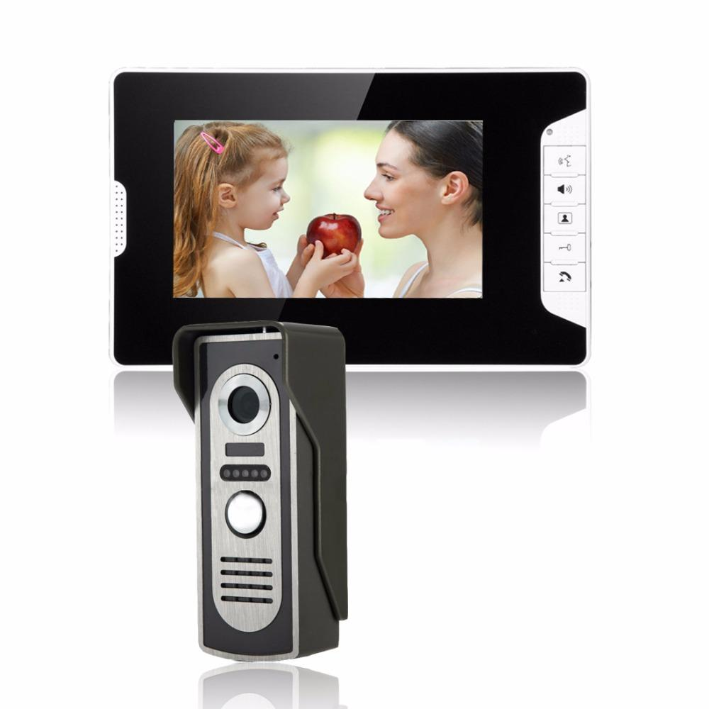 Sysd 7 Inch Lcd Color Video Door Phone Intercom System Weatherproof