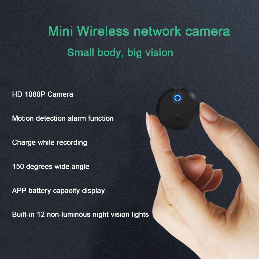 Sensor de Detección de red IP inteligente HDQ15 Wifi Mini cámara HD 1080P de la videocámara 12 visión nocturna por infrarrojos de movimiento del coche de deportes de acción DV DVR /