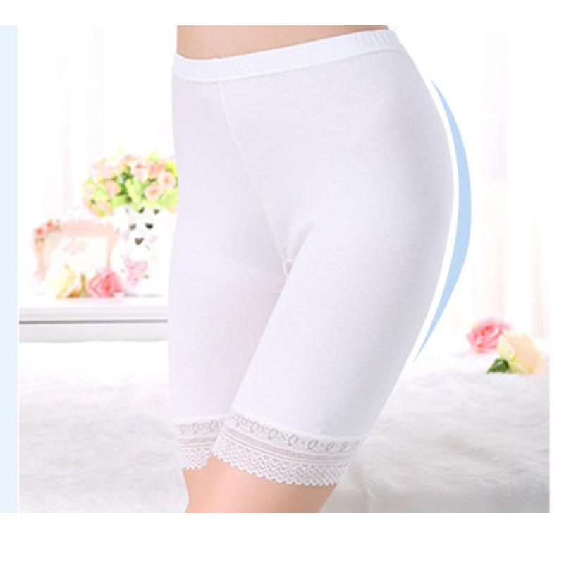 3ab88a5124cfe3 2019 Sexy Ladies Knee Length Short Leggings Under Skirts Anti Lighting  Ladies Panties Comfortable Underpants Five Pants Sexy Bottoming Panties  From Daylight ...
