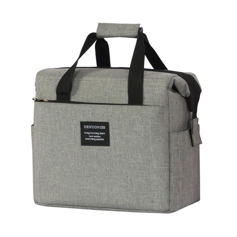 Oxford cloth insulation bag portable lunch box bag takeaway lunch shoulder