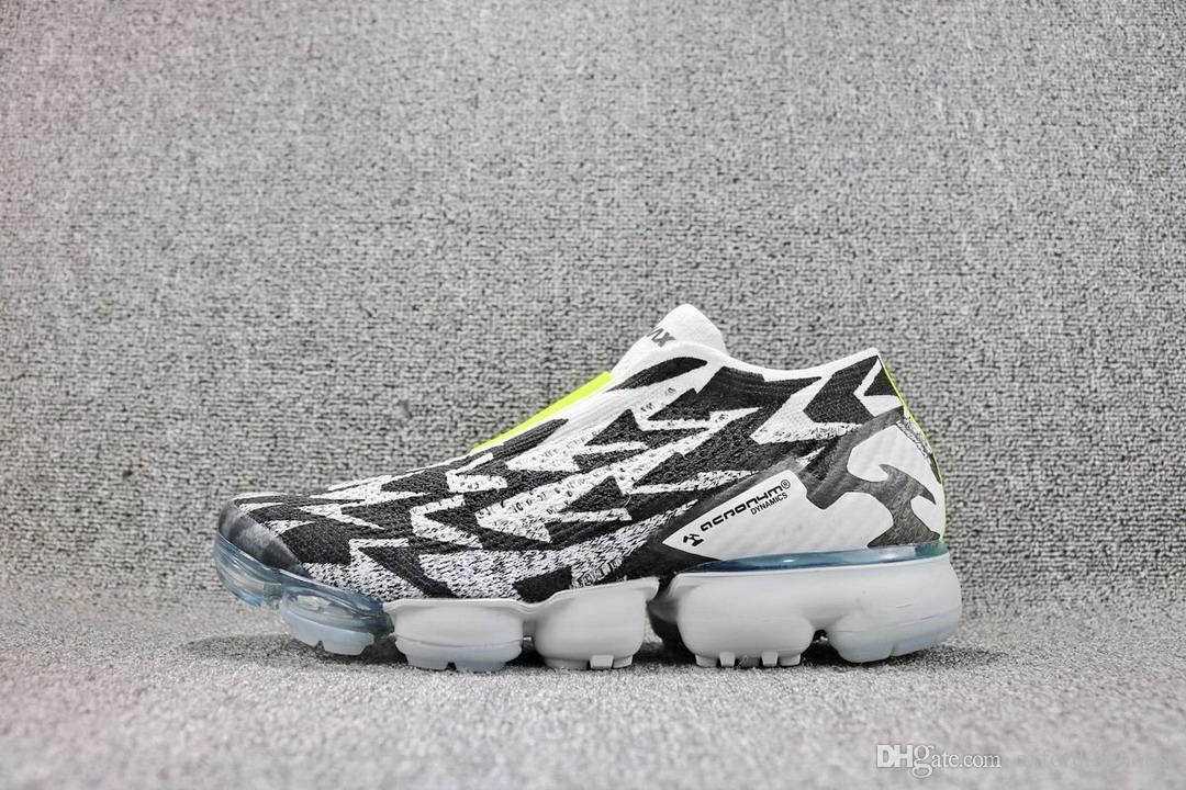 ACRONYM x Vapormax Moc 2 Mid Running Shoes For Men Authentic Sneakers Black White Red Yellow Newest Release 40-45 2018 outlet perfect outlet really sale shop for mbQhx5Q1