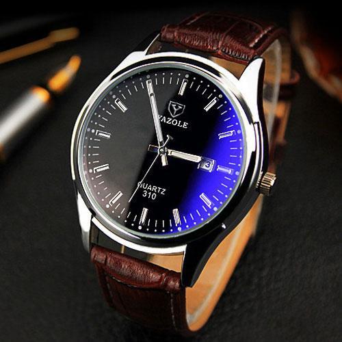 c796b68e572 Compre Yazole Novo 2018 Relógio De Pulso Dos Homens Relógios Top Marca De  Luxo Famoso Relógio De Pulso De Quartzo Para O Relógio Masculino Relogio  Masculino ...