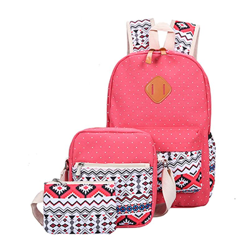 Backpacking Backpack Canvas Printing Backpack Women Cute Lightweight Bookbags  Middle High School Bags For Teenage Girls Tool Backpack Best Laptop Backpack  ... f12c5cc155ac