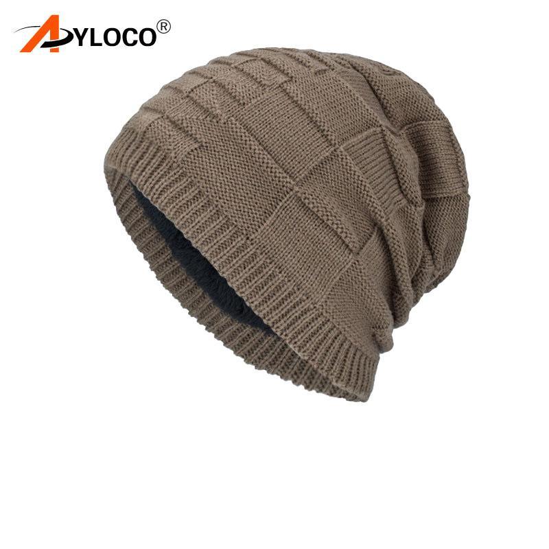 349292fbd8b 2019 Outdoor Beanies Knit Men S Winter Hat Caps Skullies Bonnet Winter Hats  For Men Women Beanie Warm Baggy Sports Hat Fleece From Lvmangguo