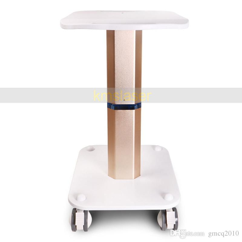 High Quality Assembled Steel Frame Trolley Cart Stand Tray For RF Cavitation IPL Laser Salon Spa Use Beauty Machine