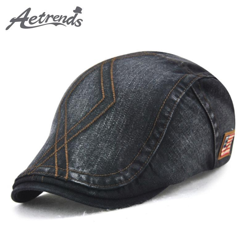 AETRENDS 2017 New Cotton Beret Hats For Men Or Women Fashion Visor Hat  Berets Z 6028 UK 2019 From Zhijin de22941bc30