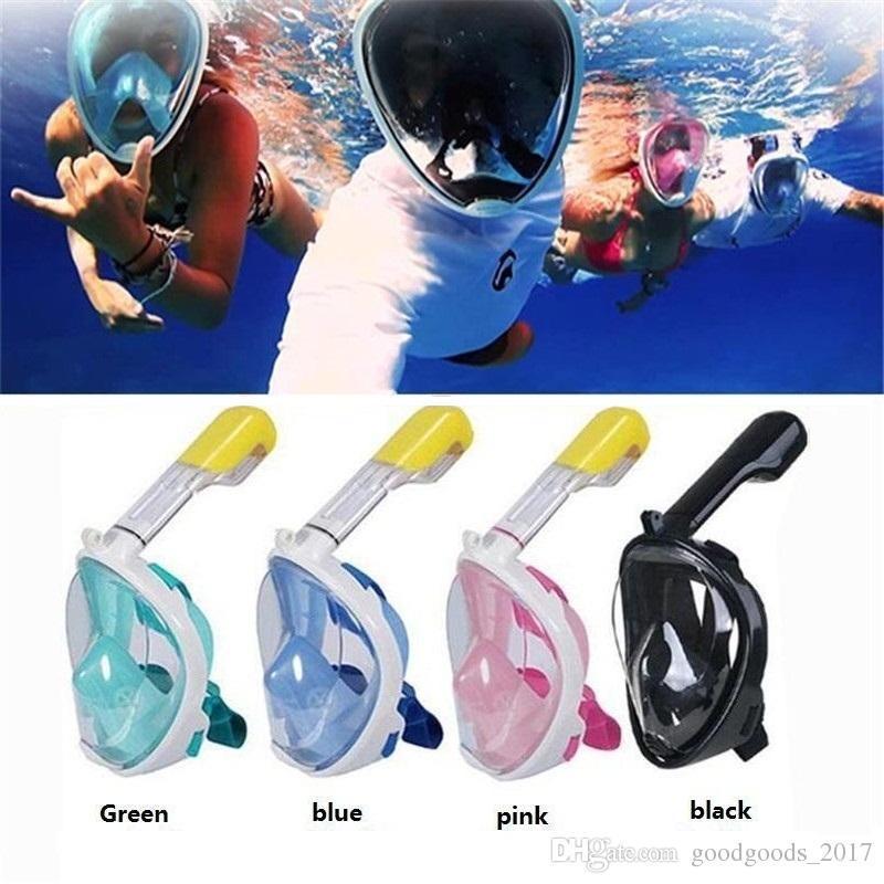 6d84d7c64 Compre Marca Máscara De Mergulho Submarino Conjunto De Snorkel Natação  Treinamento Scuba Mergulho Máscara De Mergulho Rosto Anti Fog Câmera Stand  M481 De ...